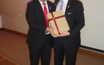 Asume nuevo Presidente en Rotary Club Puerto Montt