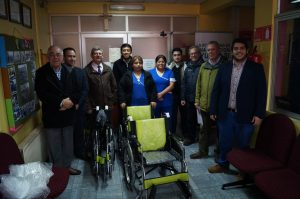 Rotary Club Puerto Montt y UST apoyan al Hogar de Cristo