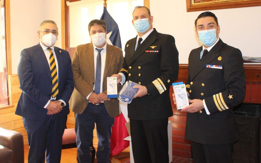 Entregamos EPP a Personal de la Quinta Zona Naval
